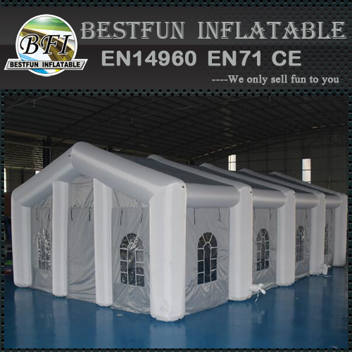 LED lighting inflatable dome tent for events