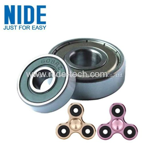 608 Fingertip spinner Deep groove ball carbon steel bearing