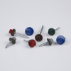 Hex head colorful painted roofing screw