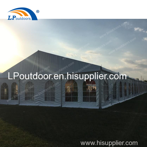 12x40M Outdoor High quality party banquet tent for 400 seats event show