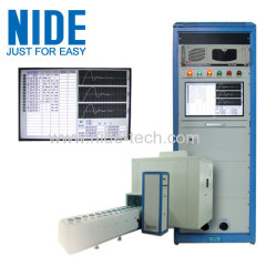 Compressor motor pump motor performance testing machinery