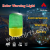 Green super bright safety strobe solar warning light