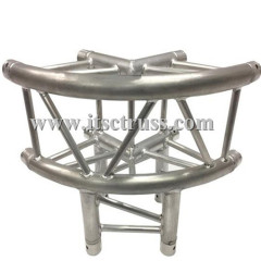 3-Way curved truss corner for 290x290mm square truss