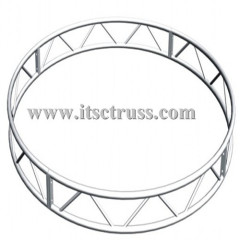 Circular lighting truss with 50x290mm ladder truss for DJ truss