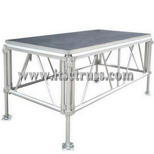 Mini Stage systems with standard mobile stages 4x8ft x5ft high for sale