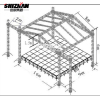 Easy install cheap aluminum lighting stage truss for sale