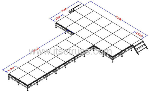 Mobile stage systems from Chinese best supplier