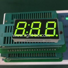 "Super bright green Triple digit 0.56"" 7 segment LED Display for Temperature indicator"