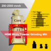 200-2500 mesh calcium carbonate powder making machine CaCO3 grinding mill machine