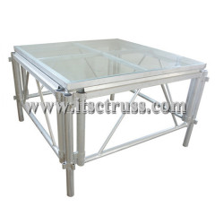Movable Acrylic modular stage manufacturers
