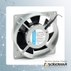 Axial fan 120x120x38mm silver frame with CE certificate