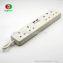 GCC PASSED top selling 4/5/6 way extension power strip