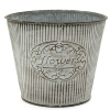 outdoors garden flower pot stand metal flower pot