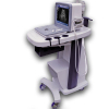 black and white ultrasonic scanner add trolley