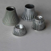 Aluminium Casting of LED streetlight housings Light Screw Socket Die Casting