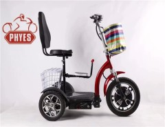 phyes Golfcart 3 Wheel Electric Mobility Scooter Tricycle Trike