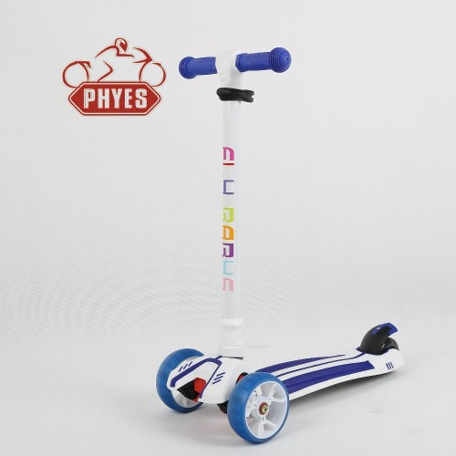 phyes brand China Factory Price Three Wheels Kick Kids Scooter Twist Scooter With Led Light