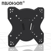 NBJOHSON Low-Profile Slim Design Fixed TV Wall Mount Bracket Fits 17-42 Inch LCD LED TVs and Computer Monitors