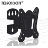 NBJOHSON Slim Design Tilt TV Wall Mount Bracket Fits 13-27 Inch LCD LED TV and Computer Monitors
