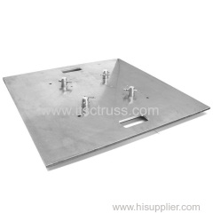 600x600mm Aluminum Plates Basement for 290x290mm Quatro Trussing