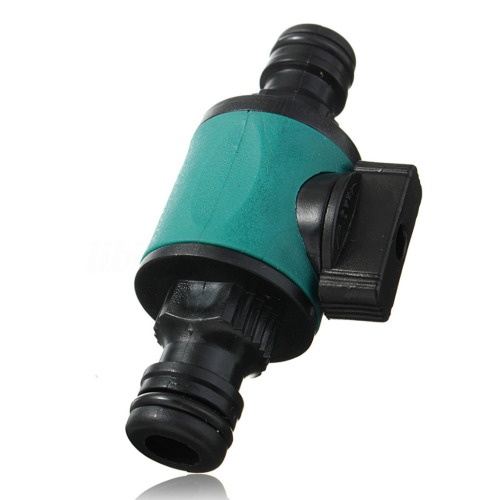 Plastic 2-way garden hose valve connector for water lawn