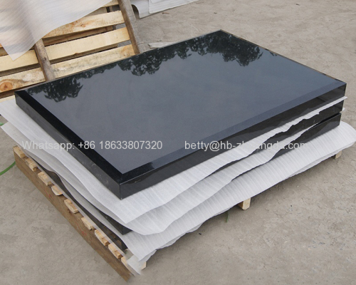 China Black / Shanxi Black / Absolute Black Granite Slabs and Tiles Natural Stone Y-01