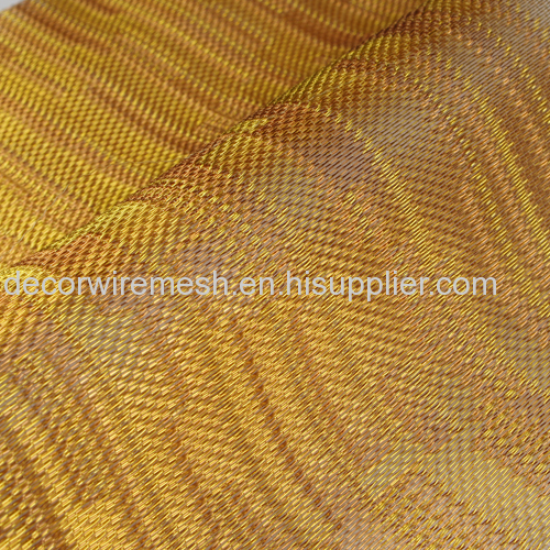 Metallic Gold Textile for wall Decoration
