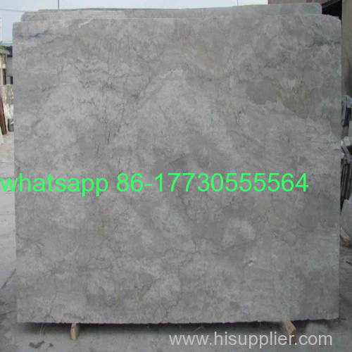 Cheapest polished China grey cream marble tileJ12