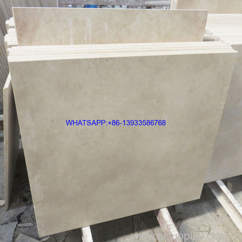 Beige/Cream marble tile for floor/wall