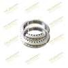 turntable bearings size 460x600x70mm