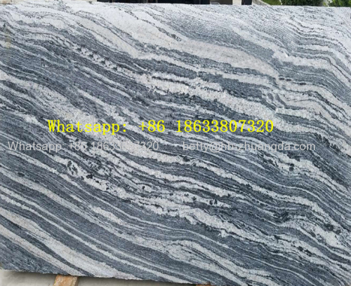 Natural Marble Floor Tiles Polished with desert vein lines Slabs Y-10