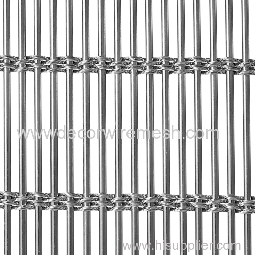 stainless steel woven mesh drapery architecture mesh