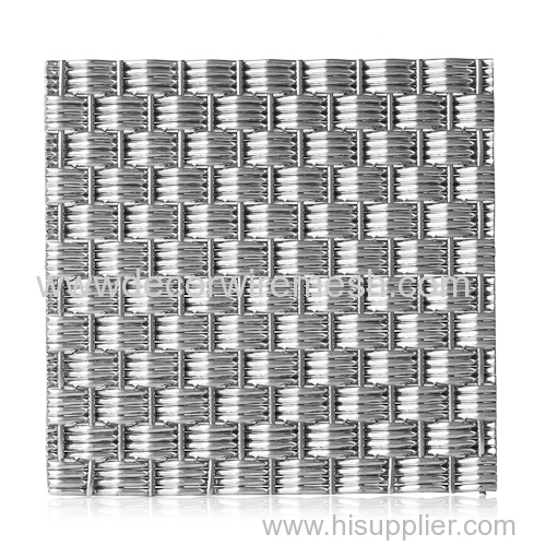 stainless steel crimped wire mesh elevator decor mesh
