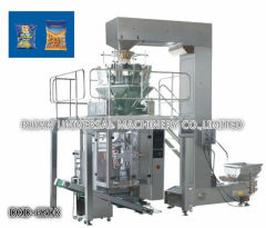 Full Automatic Snack Popcorn Nut Food Grain VFFS Packaging Machine