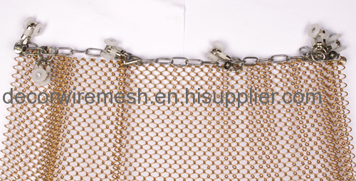 Wire Mesh Drapery for Hotel Lobby