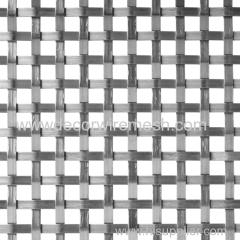 stainless steel crimped mesh square mesh