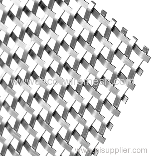 crimped wire mesh decorative mesh square mesh