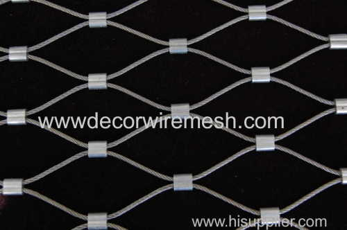 stainless steel rope mesh zoo mesh stair fence