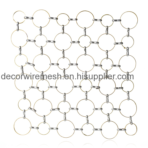 Architectural Ring Mesh Curtain