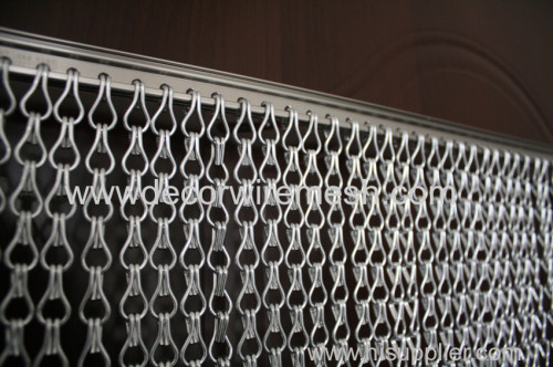 aluminum chain link curtain aluminum chain screen