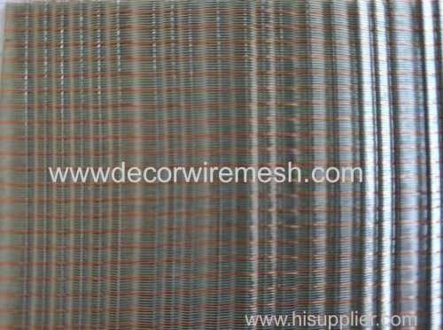 colorful metal fabric for wall covering