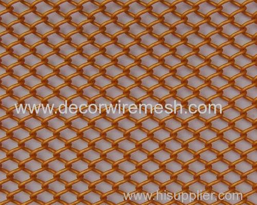 colorful steel mesh room divider 0.9mm wire 6.3mm aperture curtain