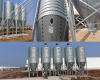 Galvanized feed bins or feed tower for pig farm project grain storage silo price pig feeding equipment