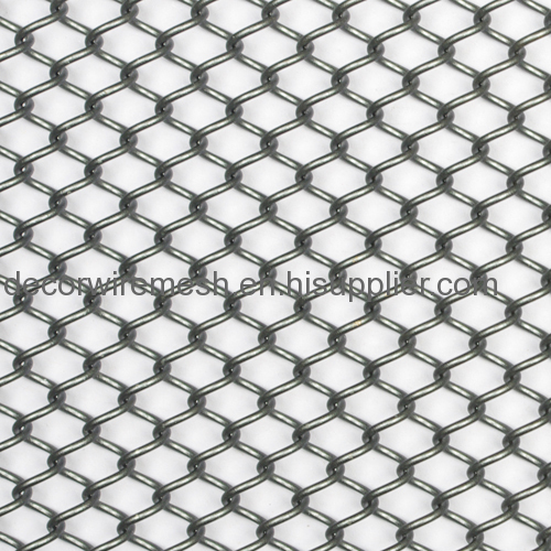 Metal Steel Coil Drapery of Decorative Wire Mesh