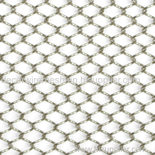 Flexible Decorative Wire Mesh Metal Coil Drapery