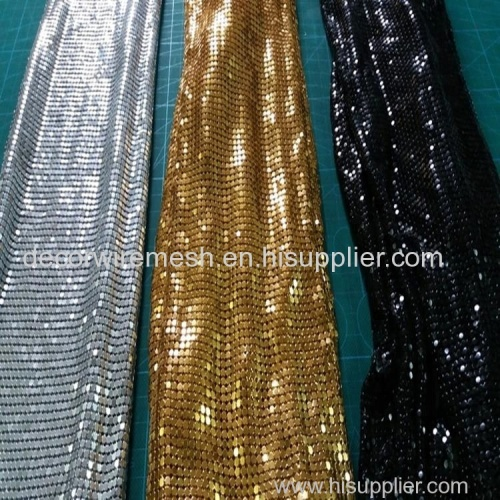 Metal matte sequin fabric