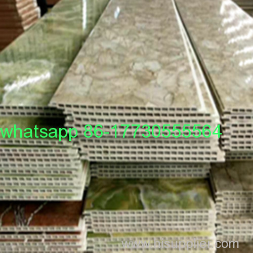 Factory supply PVC marble laminate sheet interior decorative J-28