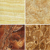 1200x2400mm Wall Decorative Panel Pvc Marble Surface Design Sheet J-29