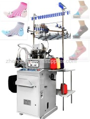 6F fully computer socks knitting machine