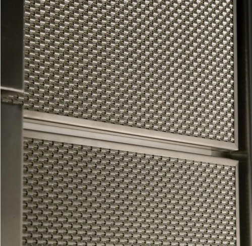 Stainless Steel Mesh Fabric for Elevator Cab